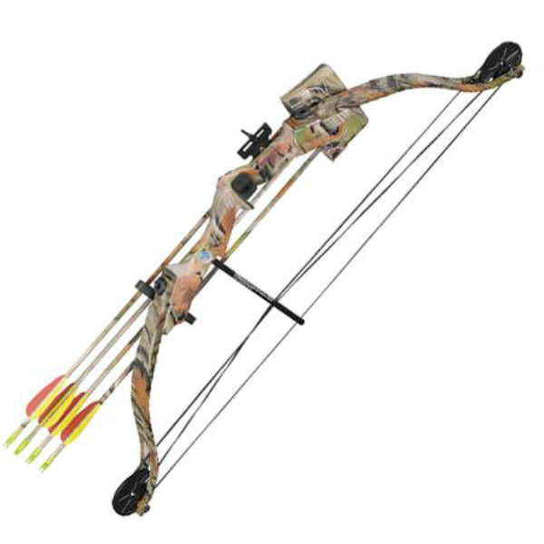 25 Pound Compound CAMO Training Bow MKCB010AC