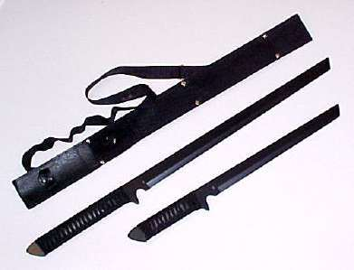 26in & 18in Ninja Sword Set HK1067