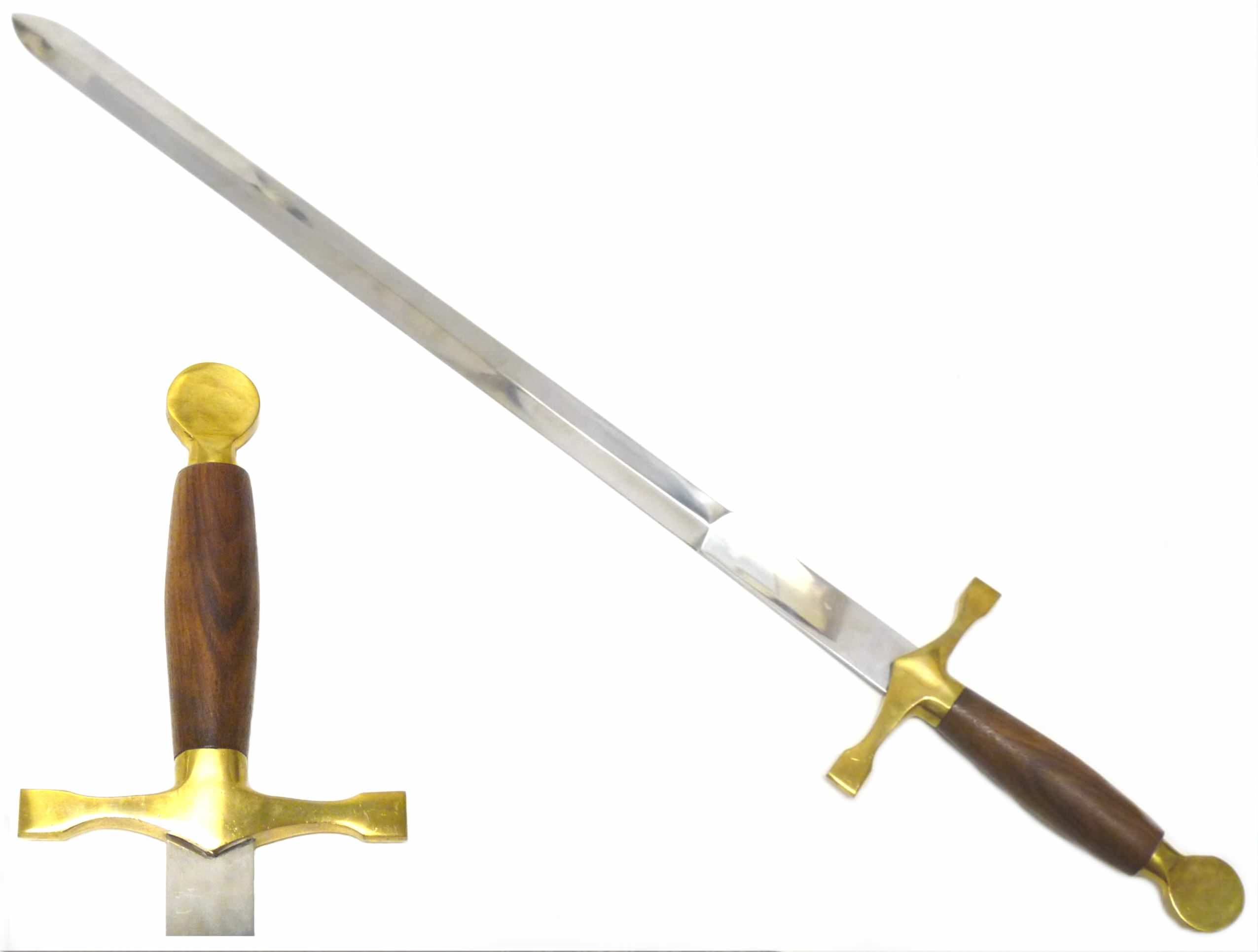 32in Braveheart Sword HK126W