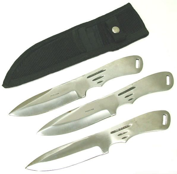 3 Pc Set Professional Throwing Knives K-210