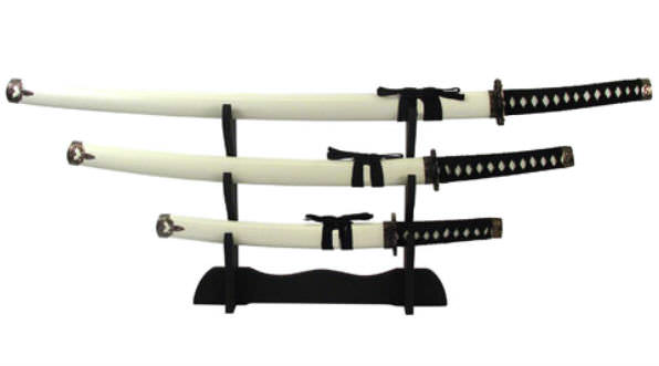 3pc Set Samurai Sword Set K0021-4WT
