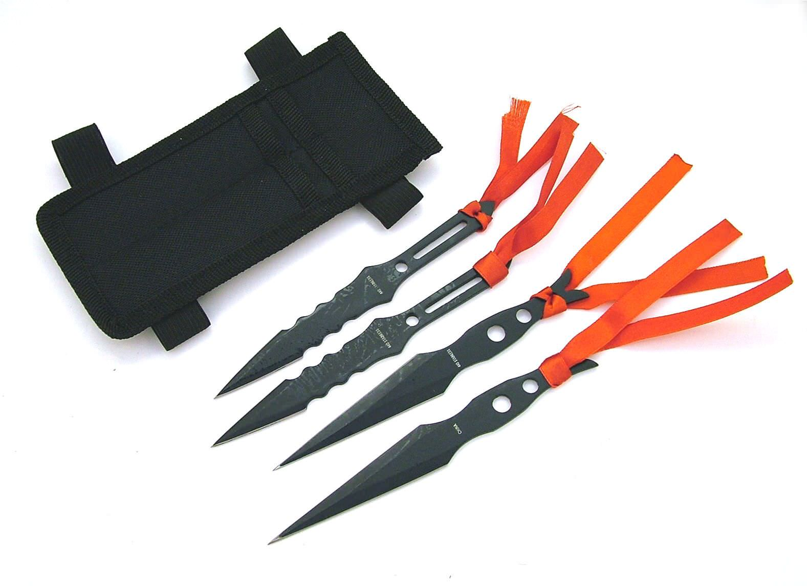 4 pc set Throwing Knives RC1174B