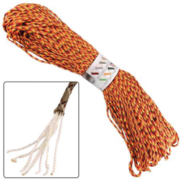 500 ft Paracord FIREBALL Survival Cord AZ899