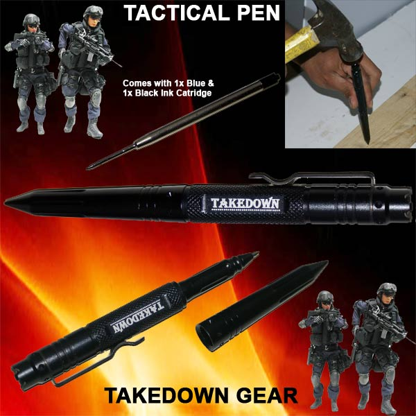 6 in TAKEDOWN Tactical Pen P15900BK