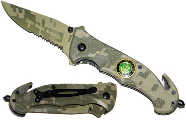 AO Digital Camo Army Rescue Knife R62CA