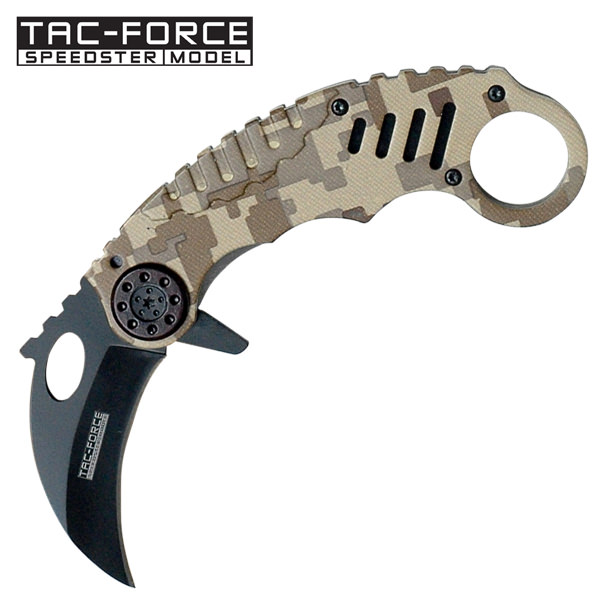AO Digital Camo Karambit folder TF620DM
