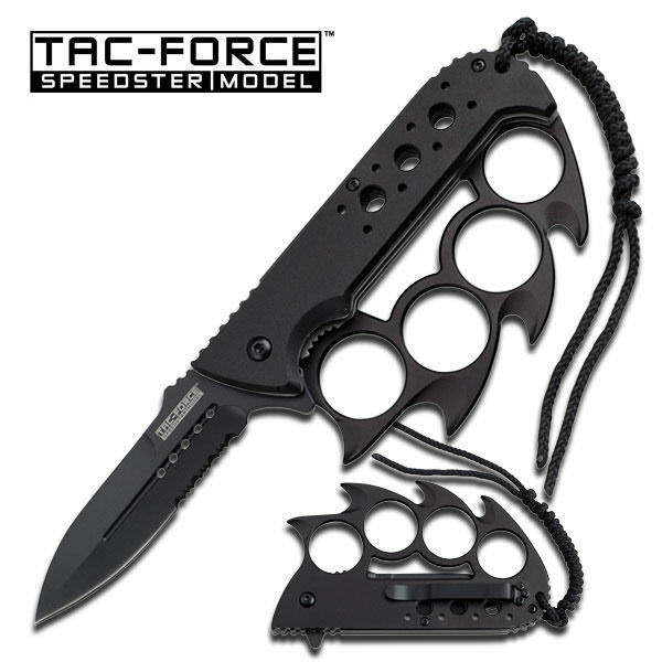 AO Knuckle Knife All metal TF793BK