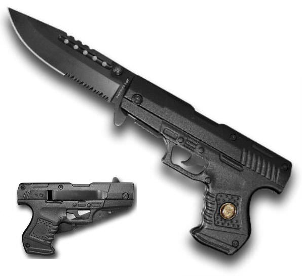 AO Pistol Handle Knife PK016510PBK