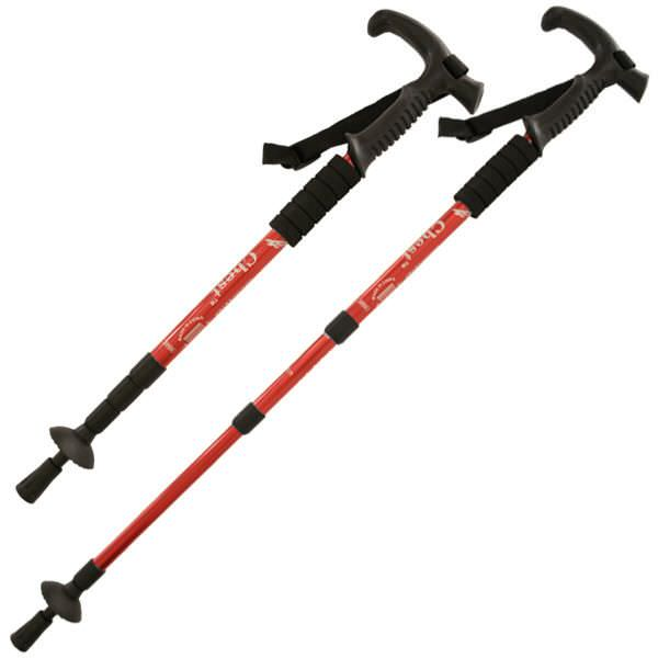 Aluminum Adjustable Hiking Cane DL23700RD