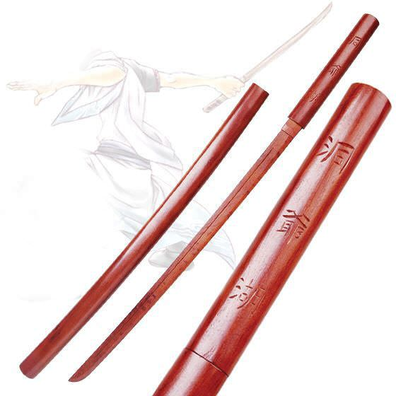 BOKKEN Wooden Practice Sword with ScabbardWSD072