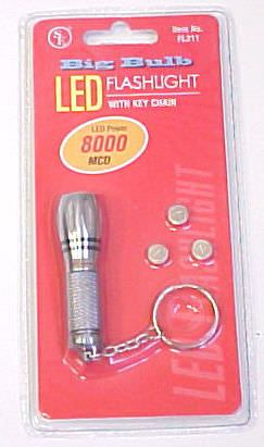 Big Bulb Led Flashlight & keychain FL311