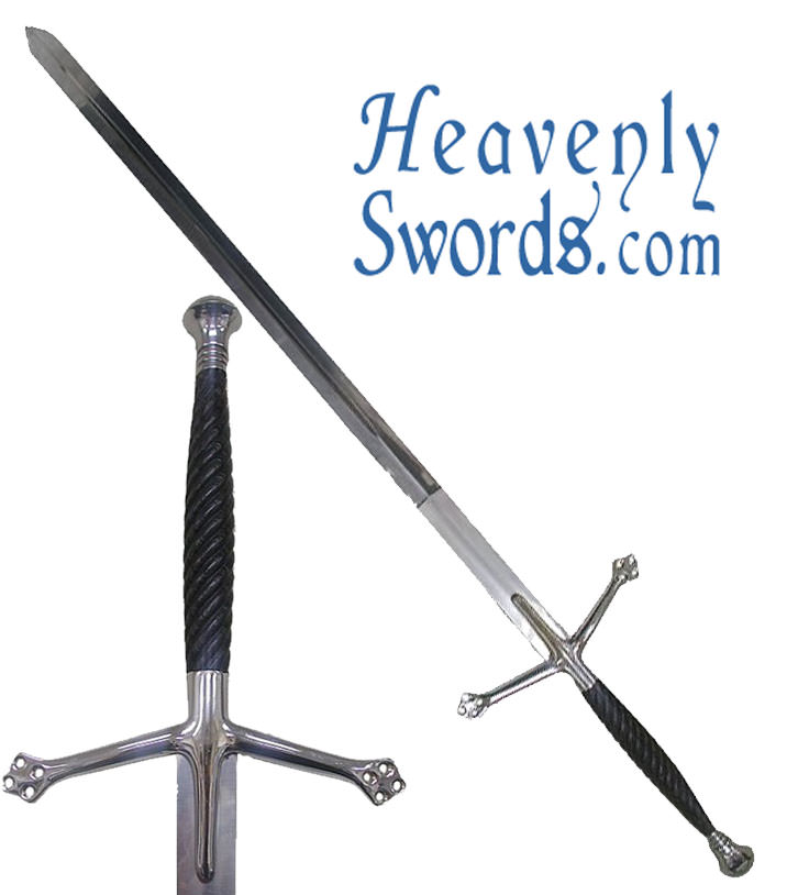 Black Knight Claymore Sword