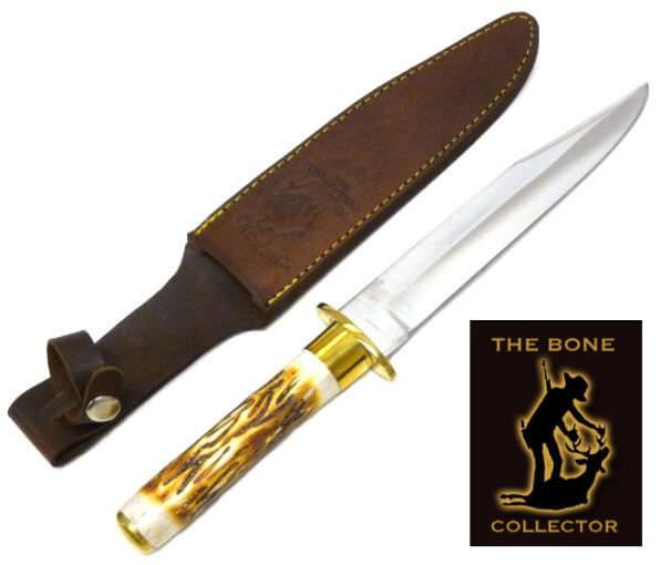 Bone Collector Bone Handle Hunting Knife BC786