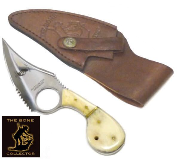 Bone Collector Bone Handle Skinning Knife BC793
