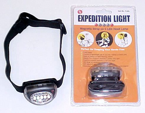 Hikers Hands Free 5 Led Headlight FL5HL