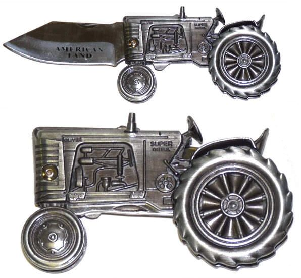 Diecast TRACTOR Pocket Knife FM598