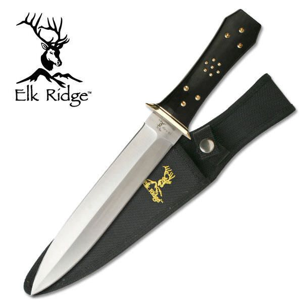 Elk Ridge Coffin Handle Dagger