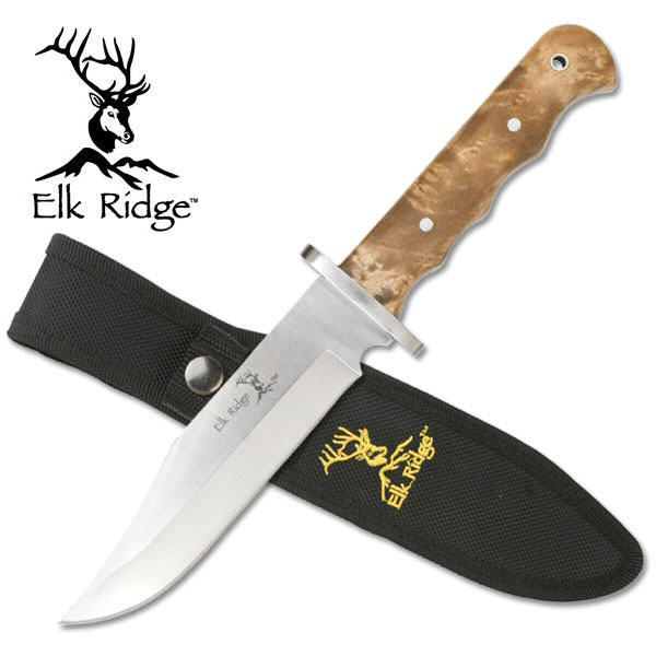 Elk Ridge Full Tang Bowie Knife ER101
