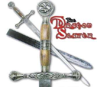 Dragon Slayer Long Sword with Sheath 42""