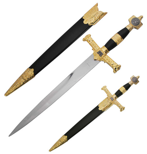 King Solomon Dagger / Short Sword H4914BK