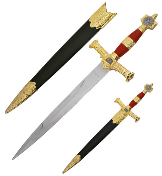 King Solomon Dagger / Short Sword H4914RD