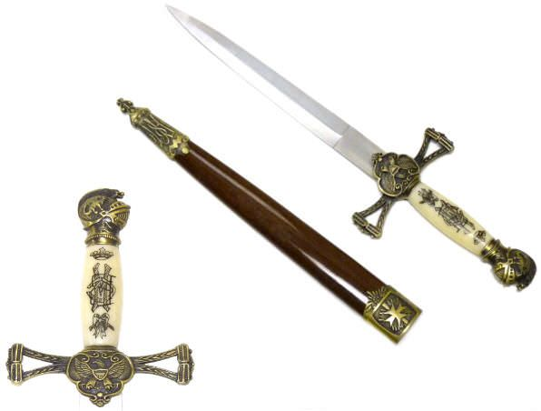 Knights Gold Dagger SW799