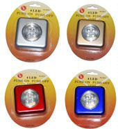 LED 4 bulb Tap Light FL1013