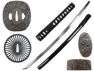 Masahiro Assemble Yourself Warrior Katana 40""