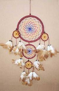 Native American 8in Dream Catcher 3170