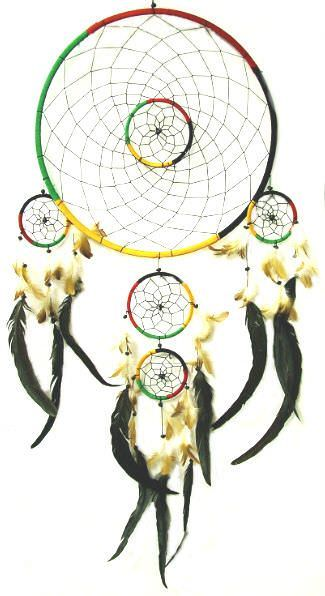 Native American Giant 16in Dream Catcher 2899
