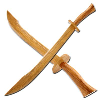 PIRATE Wooden Sword W0294