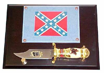 Robert E. Lee Bowie Knife & Plaque KCK155WPQ