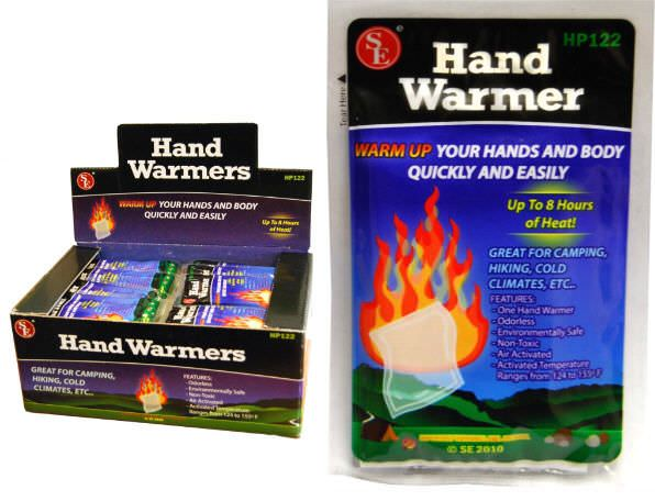 Hand Warmer lasts up 8 hrs HP122