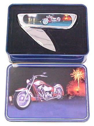 Motorcycle in Metal Box KFK236M1