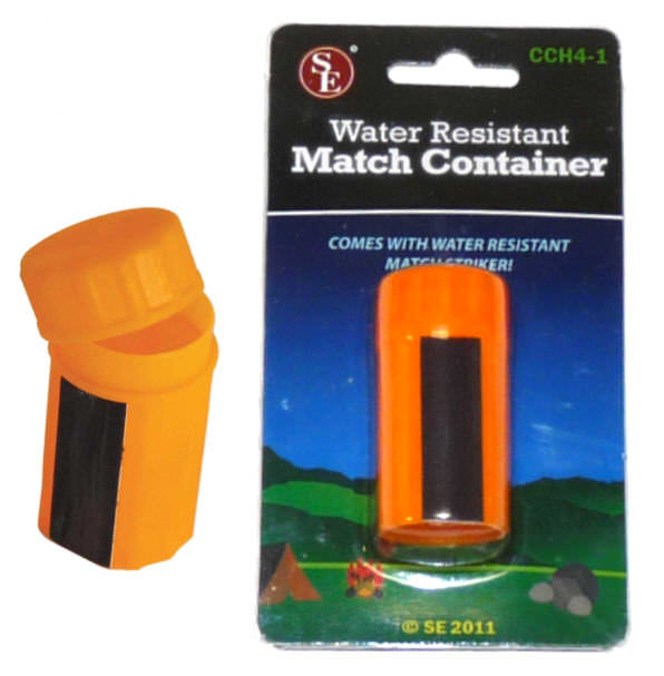 Survival Water Resistant Match Box CCH4-1