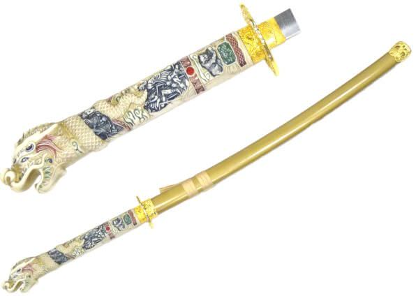 Sword of the Immortals Open Mouth K3003-1GD