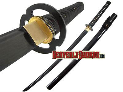Ten Ryu Musashi Samurai Black Sword 39""