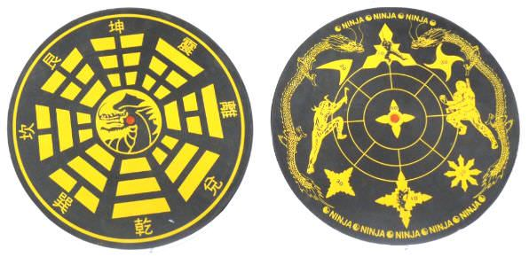 Throwing Knife Target Double Sided 4401