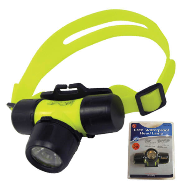 WATERPROOF 5 Watt LED Headlamp FL443WPH