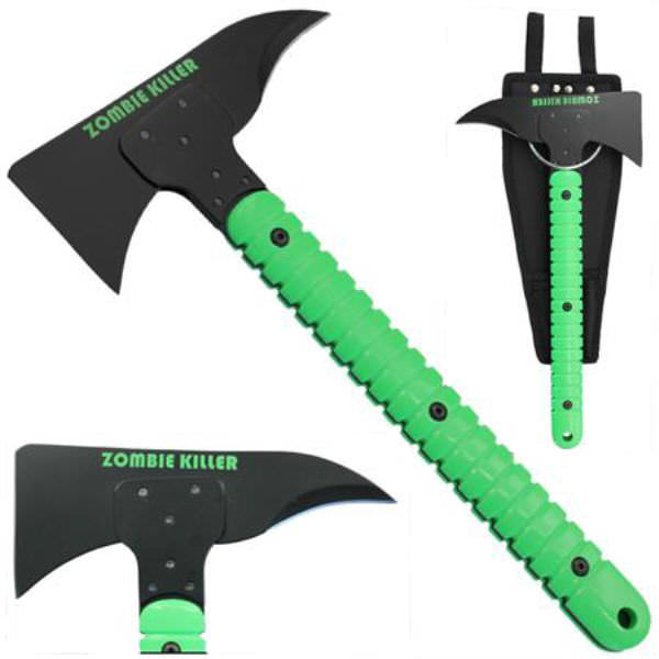 ZOMBIE KILLER Axe and carrier KX066G