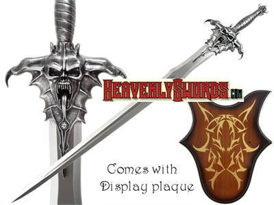 The Devil's Sword and Plaque 45""
