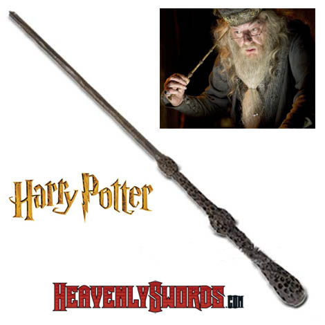 Harry potter movie replica swords wands collectibles for Harry potter professor dumbledore wand