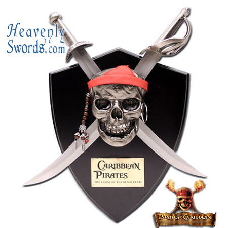 Pirates Of The Caribbean Daggers Wall Display
