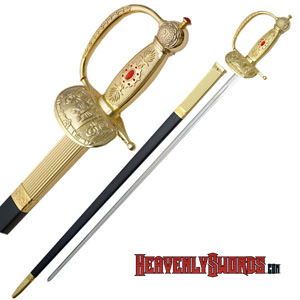 Gold Marines Sword