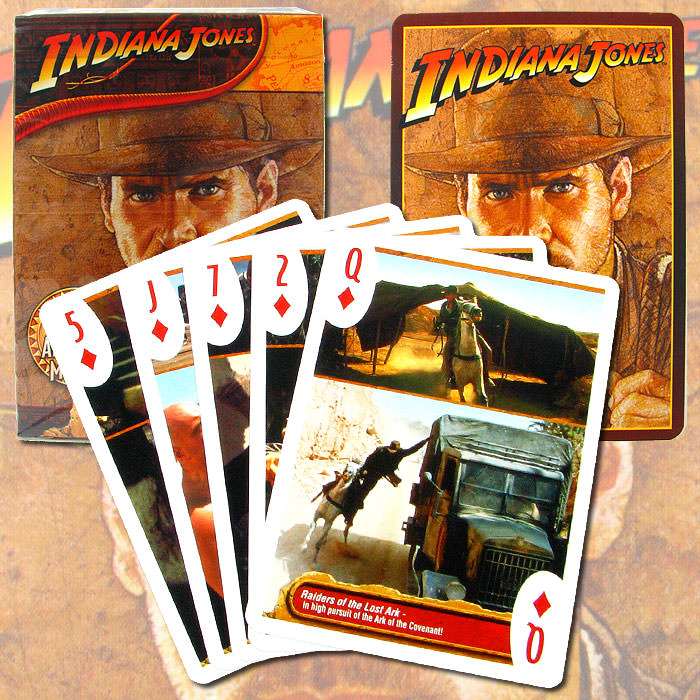 Indiana Jones Movies Playing Cards - One Deck