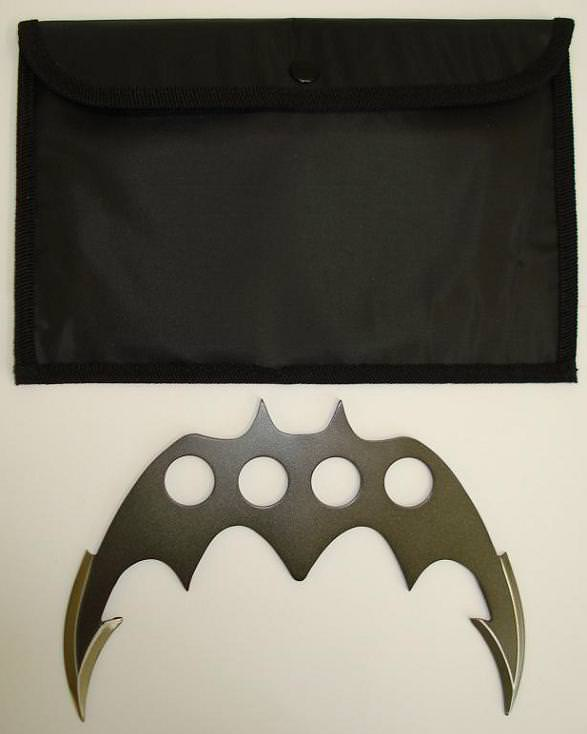 Batman Bat Fighter Throwing Knife Large