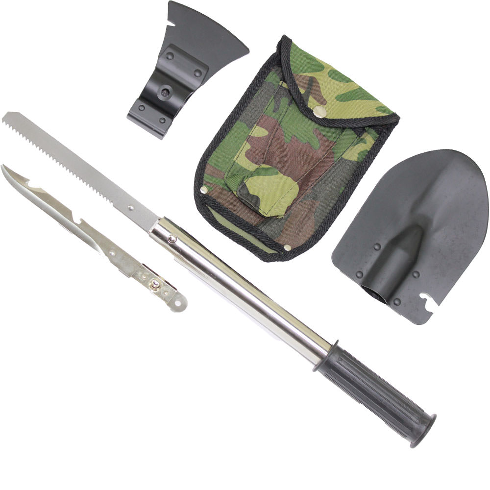 100% Survivability Kit - Versatile Saw, Spear, Hatchet, Shovel