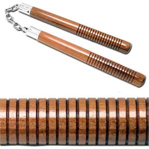 """Octagon B. B. Chuck With Wood Lines 12"""" Hand Grip"""