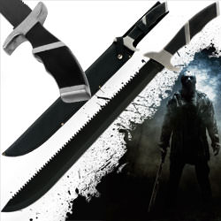 Friday The 13th Jason Machete with Sheath 25&quot;