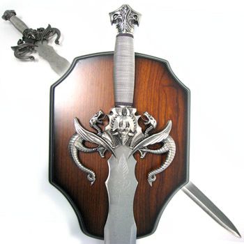 Fantasy Dragon Sword with Plaque 41""